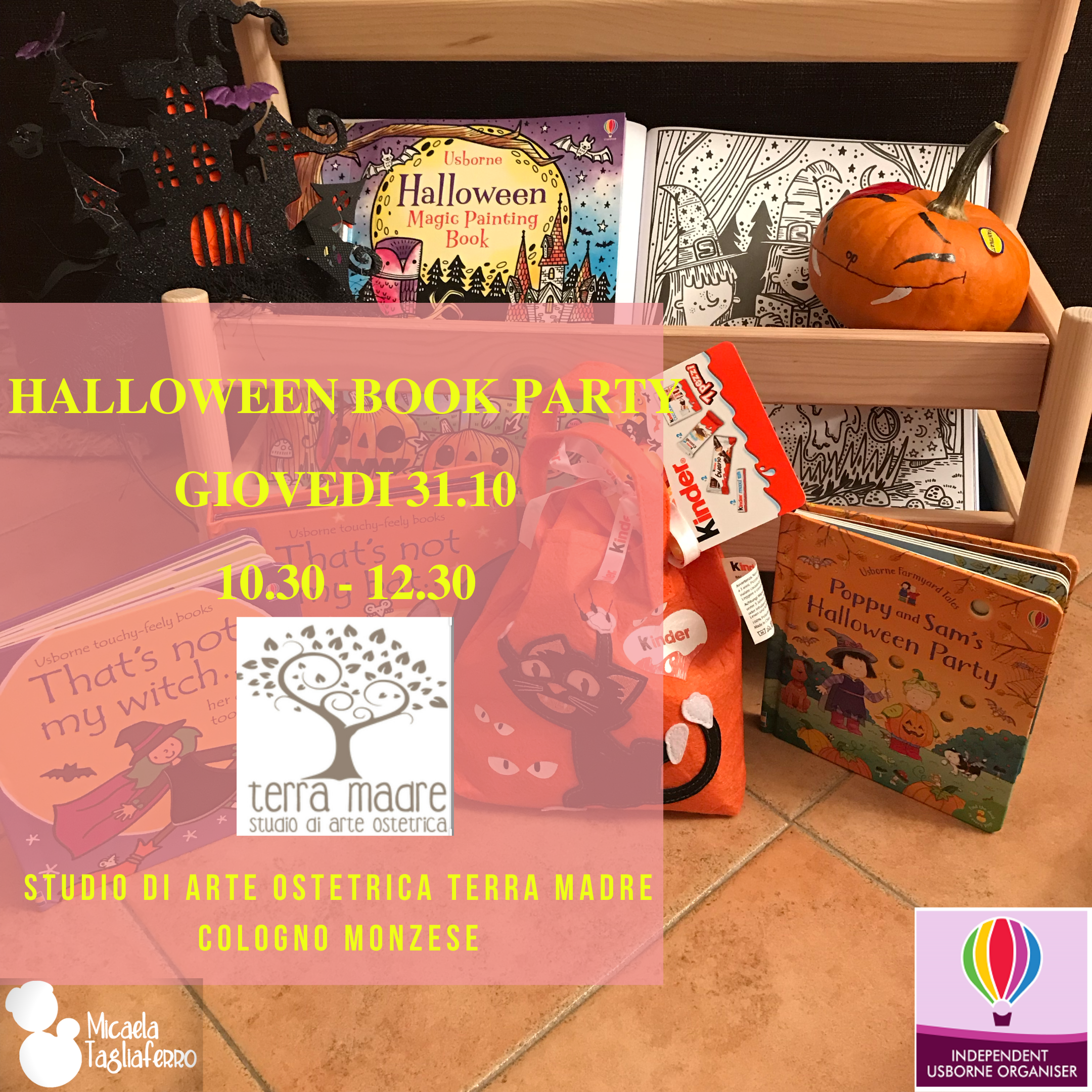 Halloween Book Party
