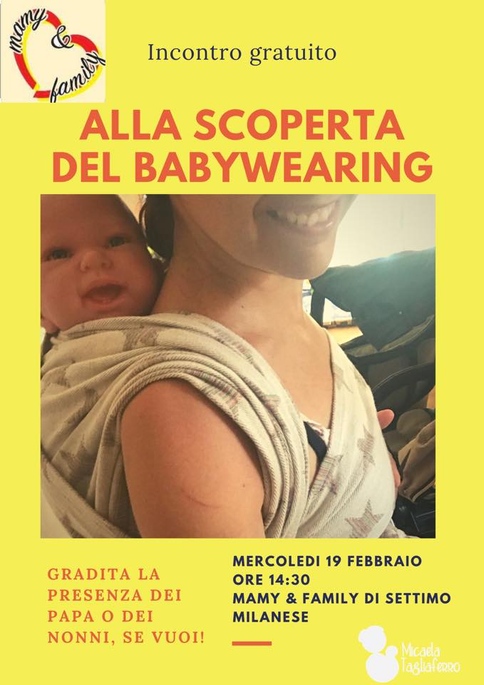 Incontro informativo Babywearing Settimo Milanese