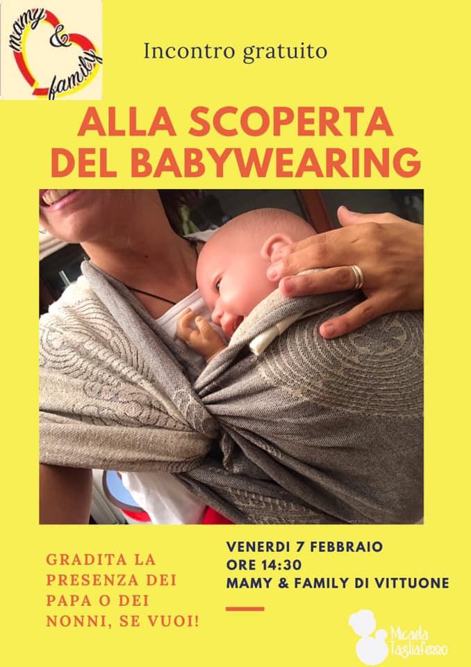 babywearing 7 febbraio vittuone