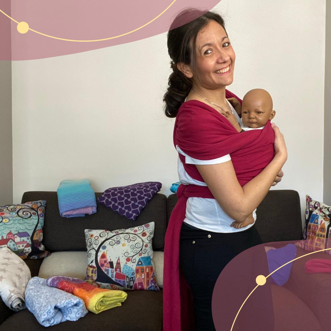 Videocorso Babywearing Pratico - fascia elastica